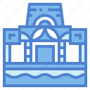 architecture, building, monument, museum icon