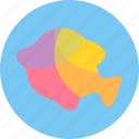 aquatic creatures, fish, fishing, ocean, sea, water icon