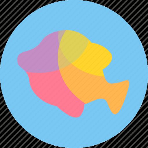 aquatic creatures, fish, fishing, ocean, sea, water icon
