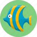 aquatic creatures, fish, fishing, ocean, sea icon