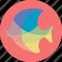 aquatic creatures, fish, fishing, ocean, sea icon