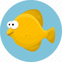 aquatic creatures, fish, fishing, marine, ocean, sea icon
