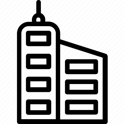 building, high-rise building, modern building, skyline building, skyscraper icon