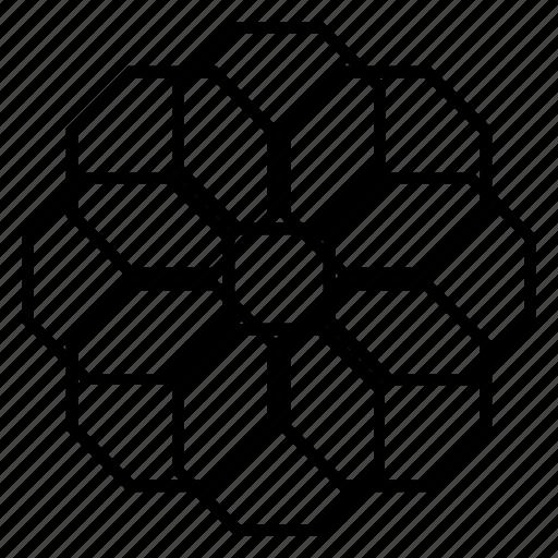 abstract, arabesque, geometric, islamic-art, ornament, pattern, symmetric icon
