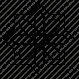 abstract, arabesque, arabic, geometric, islamic art, ornament, symmetric icon