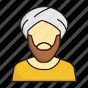 muslim, sheikh, arabic, momin, man, male, beard