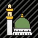 rawdah e rasool, rawdah mubarak, muslim, holy place, prophet mosque