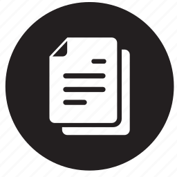 business, documents, note, office, page, papers, writing icon