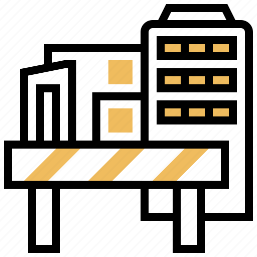 Area, building, construction, danger, zone icon - Download on Iconfinder