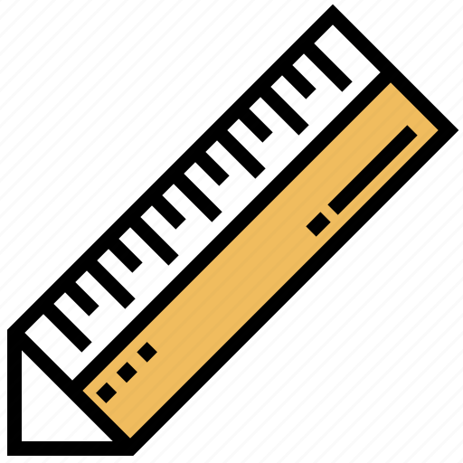 measurement, ruler, scale, tool, wooden icon
