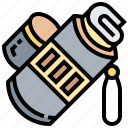 blueprint, carry, document, storage, tube icon