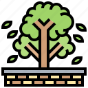 greenery, nature, outdoor, plant, tree icon