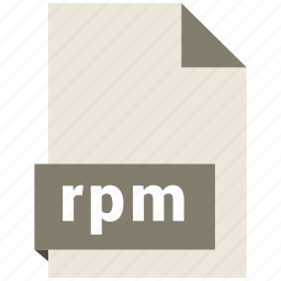 archive file format, document, extension, file format, rpm icon