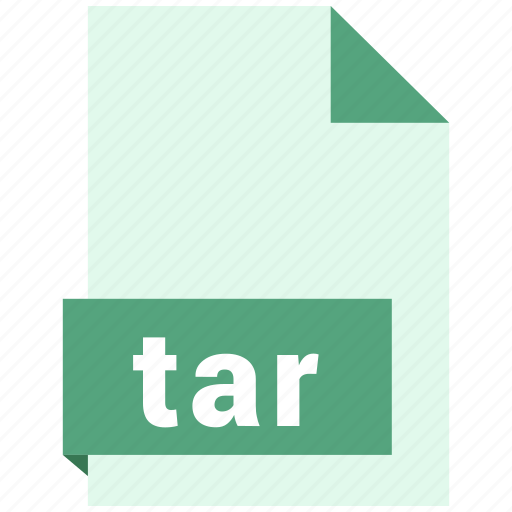 archive file format, document, extension, file format, tar icon