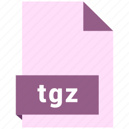 archive file format, document, extension, file format, tgz icon