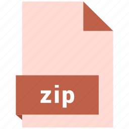 archive file format, document, extension, file format, zip icon