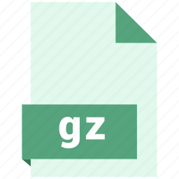 archive file format, document, extension, file format, gz icon