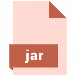 archive file format, document, extension, file format, jar icon
