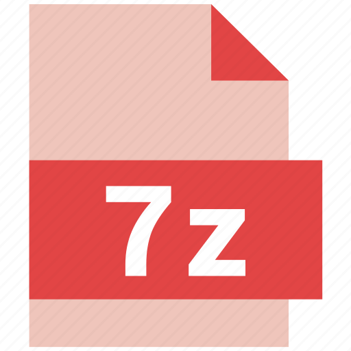 7z, extension, file, file format icon