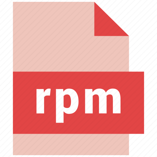 file format, rpm icon
