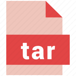extension, file, file format, tar icon