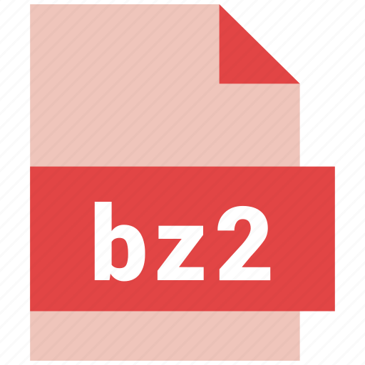 archive, bz2, extension, file, file format, format, hovytech icon