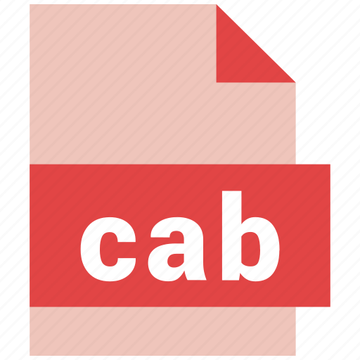 archive, cab, compressed, file, file format, format icon