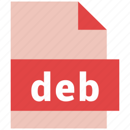 deb, file format icon