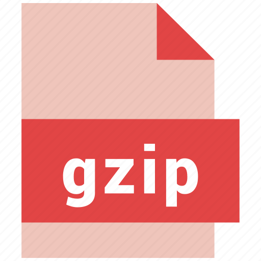 file format, filetypes, gz, gzip icon