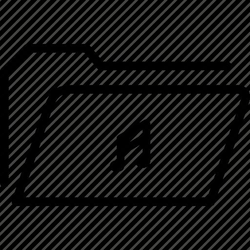 data, document, file, folder, music, note, storage icon