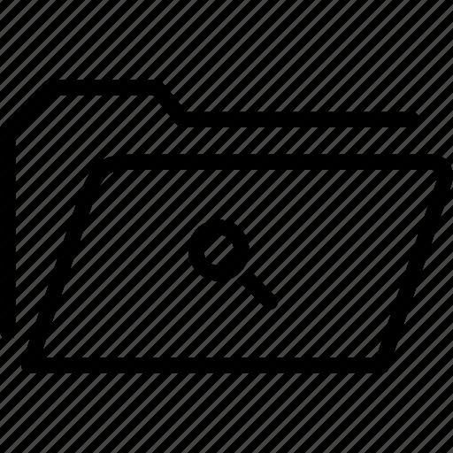 data, document, file, find, folder, search, storage icon