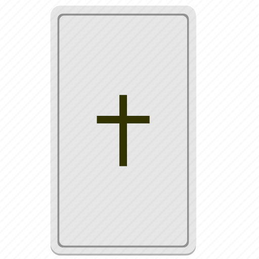 card, cross, divination, tarot icon