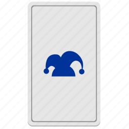card, divination, joker, tarot icon