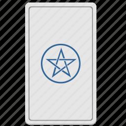 card, devil, divination, star, tarot icon