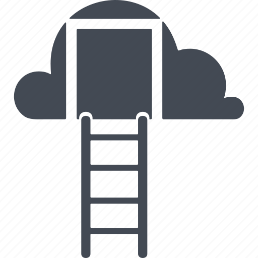 career ladder, increase, perspective, promotion icon
