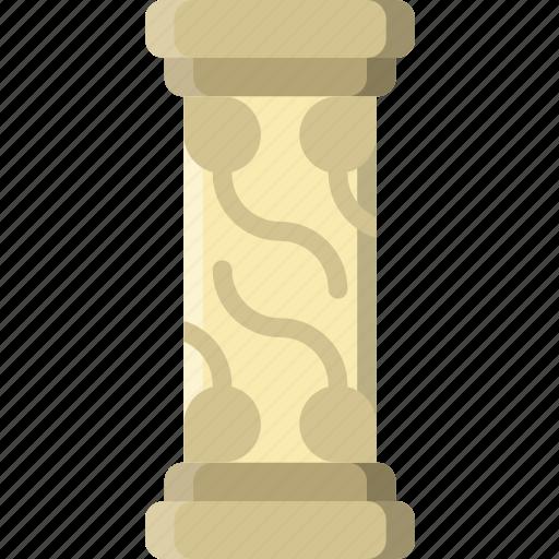 architecture, building, estate, pillar icon