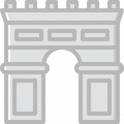 arch, architecture, building, estate icon