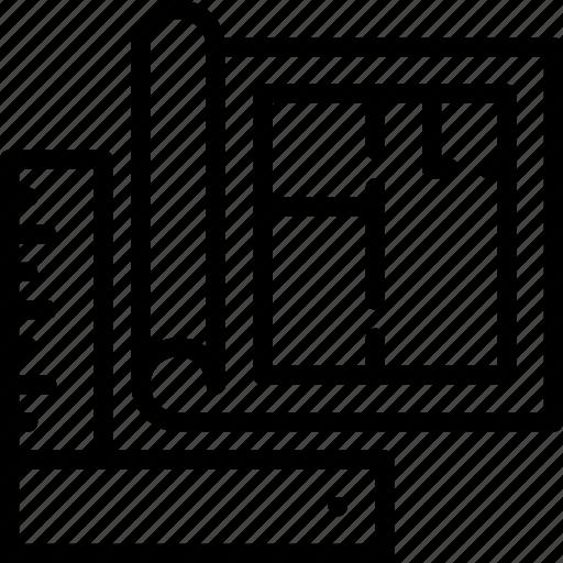 Architecture blueprint building estate tools icon icon search architecture blueprint building estate tools icon malvernweather Images