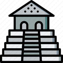antique, architecture, building, estate icon