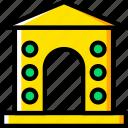 arch, architecture, building, estate