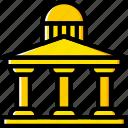 antique, architecture, building, estate icon