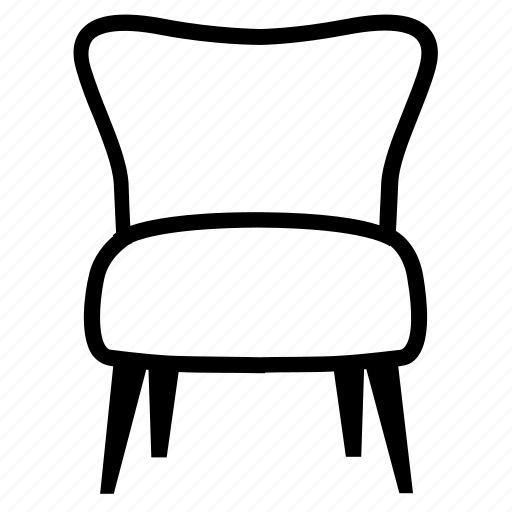 chair, comfort, furniture, livingroom, lounge, relax icon
