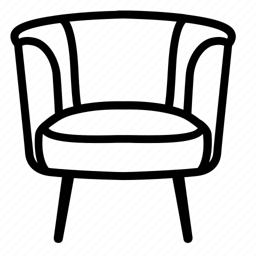 armchair, comfort, furniture, livingroom, lounge, relax, sofa icon