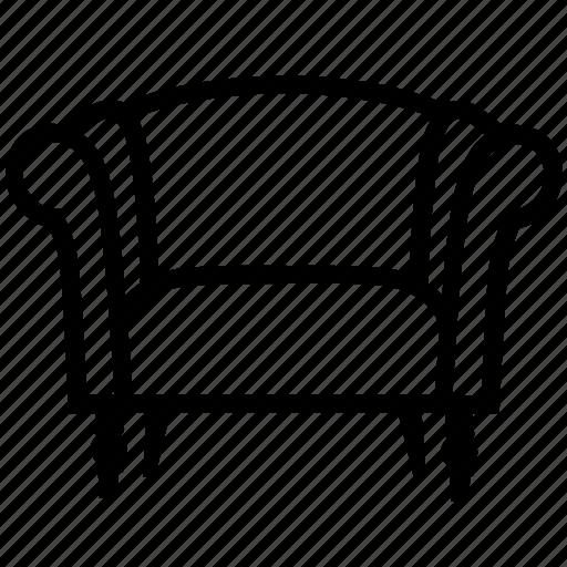 armchair, comfort, furniture, livingroom, lounge, relax, sofa icon