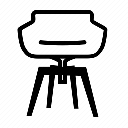 chair, comfort, furniture, livingroom, lounge, recliner, relax icon