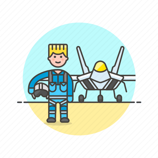 air, aircraft, army, man, military, pilot, plane, soldier icon