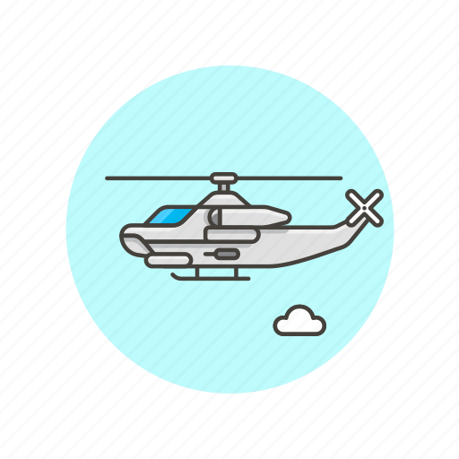 aircraft, airplane, army, chopper, helicopter, military, transport, vehicle icon