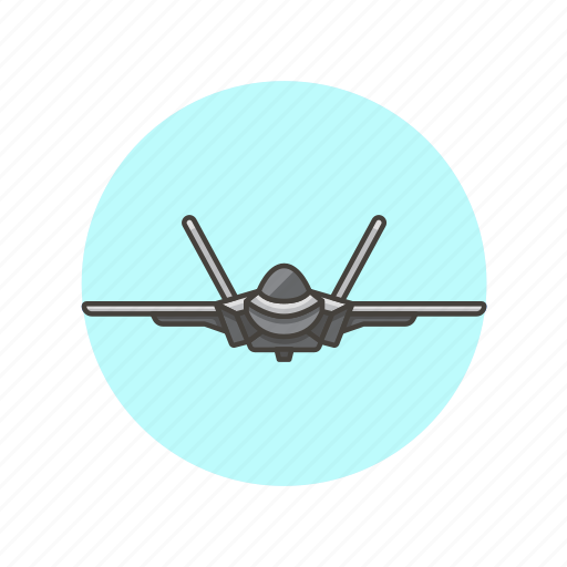aircraft, army, fighter, jet, military, plane, transport, travel icon