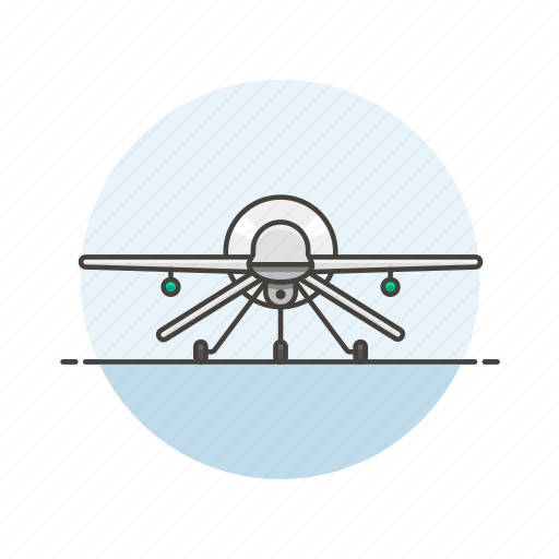 aircraft, airplane, army, drone, military, plane, transport icon