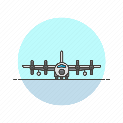 aircraft, army, delivery, military, plane, shipping, transport icon
